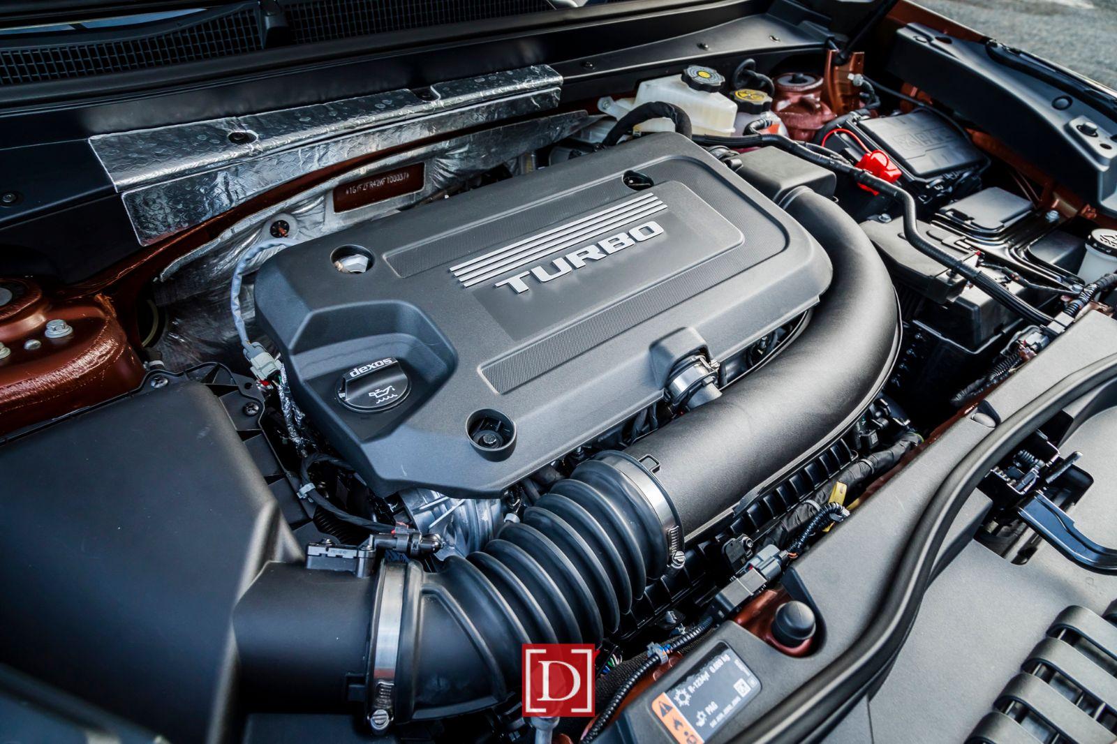 All-new 2.0L Turbo engine